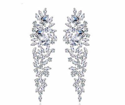 GULICX-Luccicanti-orecchini-pendenti-placcati-in-argento-stile-Art-déco-decorazione-a-forma-di-foglie-con-zirconi-per-sposa