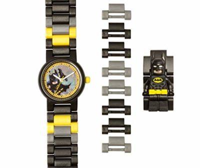 LEGO-Batman-Movie-8020837-Orologio-da-polso-componibile-per-bambini-con-minifigure-Batman